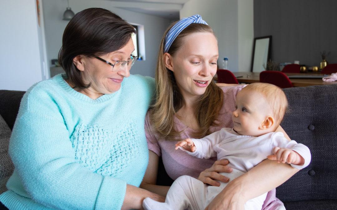 Fremde Menschen und dein Baby weint?