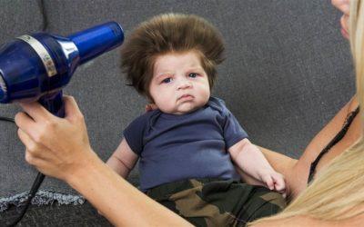 Baby Haare, hier und anderswo